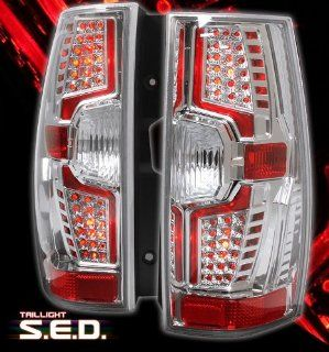 CHEVY SUBURBAN 2007 2008 LED LOOK CHROME TAIL LIGHT Automotive