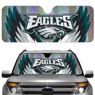 Philadelphia Eagles NFL Car Truck Window Sun Shade (2 Pack) Automotive