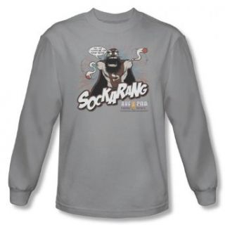 Axe Cop   Men's Long Sleeve Shirt Sockarang Clothing