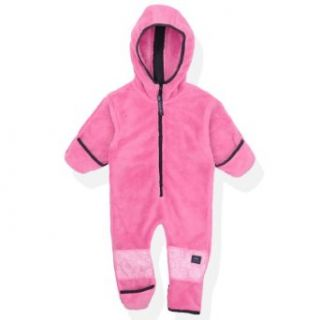 Molehill Baby Girls Polar Fleece Bunting Bear Suit Infant And Toddler Snowsuits Clothing