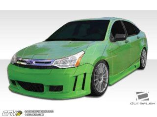 2008 2011 Ford Focus 4DR Duraflex Piranha Body Kit   4 Piece   Includes Piranha Front Bumper Cover (106425) Piranha Side Skirts Rocker Panels (106426) Piranha Rear Bumper Cover (106427) Automotive