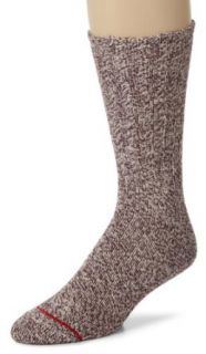 Field & Stream Men's 2 Pack Cotton Rag Crew Socks, Burgundy, 10 13 Clothing