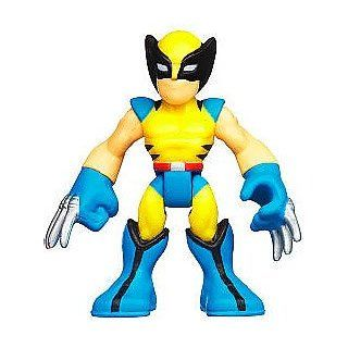 Marvel Playskool Super Hero Adventures Mini Figure Wolverine [Bagged] Toys & Games