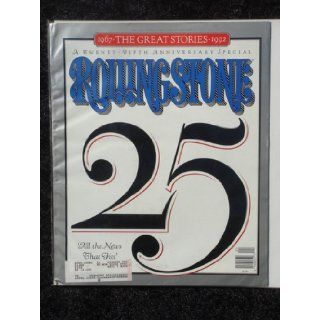 Rolling Stone Magazine June 11, 1992 Issue 632 25th Anniversary Special Cover Books