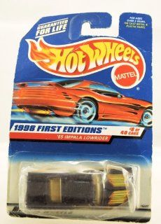 Hot Wheels   1998 First Editions   1965 Impala Lowrider   Purple   Die Cast   Collector #635   #8 of 40 Cars   Limited Edition   Collectible Toys & Games