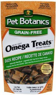 Cardinal Laboratories Pet Botanics Healthy Omega Dog Treats, Duck, 12 Ounce  Pet Snack Treats