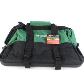 Tool Bag Green Black Heavy Duty Canvas Hand Bag Tool Organizer Tool Carrier