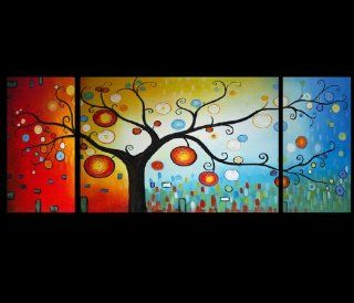 Oriental Painting Modern Abstract Feng Shui Art 10 648   Oil Paintings