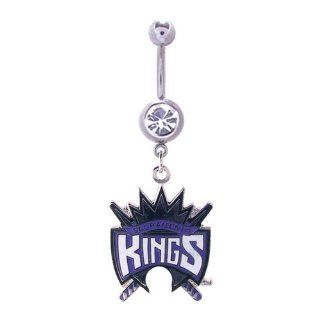 316L, NBA, Sports Body Jewelry, Belly Rings Sacramento Kings Jewelry
