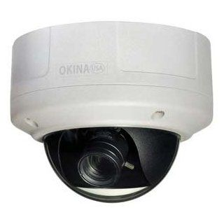 "GadKo   1/3"" Sony Super HAD CCD II Day/Night Dome Camera 630 TVL White, SDNX 863AI VD"