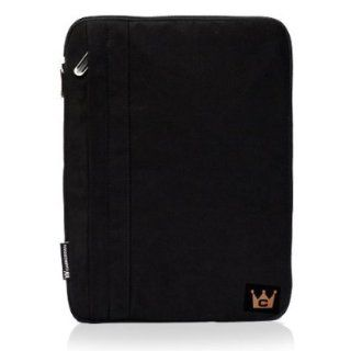 CaseCrown Faux Suede Sleeve (Black) for ASUS Eee Pad Transformer w/ Keyboard Computers & Accessories