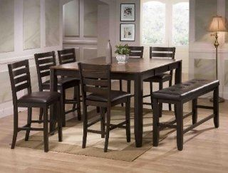 Elliot Counter Height Table by CrownMark   Dining Tables