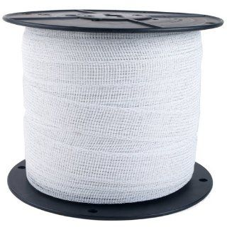 Zareba Electric Fence Heavy Duty White Poly Tape   656 Feet x 1 Inch PTW6 (Discontinued by Manufacturer)  Patio, Lawn & Garden