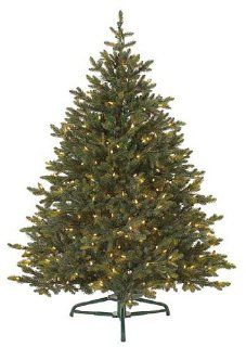 7.5' Pre Lit Petite Pine Artificial Christmas Tree   Clear Lights