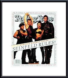 Rolling Stone Cover of Cast of Seinfeld / Rolling Stone Magazine Vol. 660/661, July 8, 1993, Movie Print by Mark Seliger   Unframed Prints