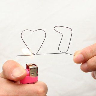 Wiregram   Memory Wire (7 of hearts) with Video Tutorial   Magic Trick Toys & Games