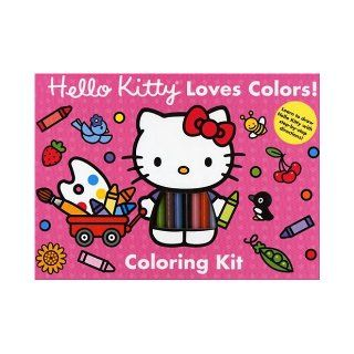 Hello Kitty Loves Colors  Coloring Kit (Hello Kitty) Abrams Books