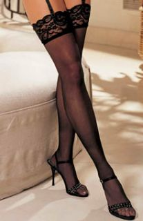 Shirley of Hollywood 90026 Lace Top Thigh High