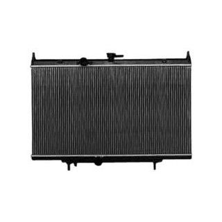 TYC 2998 Nissan Sentra 1 Row Plastic Aluminum Replacement Radiator Automotive