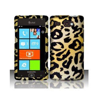 Yellow Cheetah Hard Cover Case for Samsung Focus Flash SGH I677 Cell Phones & Accessories