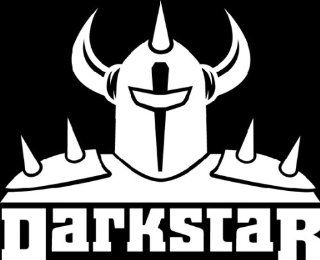 "DARKSTAR SKATEBOARD LOGO   6"" WHITE   Vinyl Decal WINDOW Sticker   NOTEBOOK, LAPTOP, WALL, WINDOWS, ETC. Automotive"