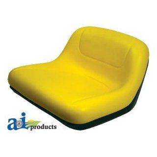 A & I Products Lawn Tractor Seat, Mid Back Parts. Replacement for John Deere Part Number GY20495