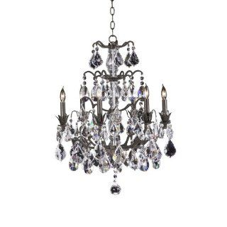 Cyan Lighting 692 6 570 Versailles Lorraine   Six Light Chandelier, Old World Finish with Imperial Crystal