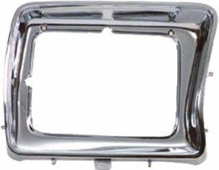 QP F0753 a Ford F Series Chrome Passenger Headlight Door Grille Automotive