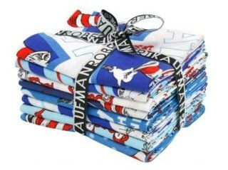 The Cat in the Hat by Dr. Seuss, Classic colorstory Fat Quarter Fabric Bundle (8 pcs/ 2 yards) FQ 701 8