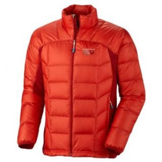 Mountain Hardwear Zonal Down Jacket   Men's Cherry Bomb / Red Velvet Small Clothing