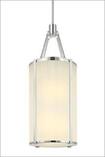 Sonneman 4357.13 Six Light Down Lighting Lantern From the Roxy Collection, Satin Nickel   Ceiling Pendant Fixtures