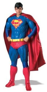 Collector's Superman Costume   Standard   Chest Size 40 44 Clothing