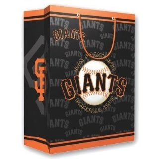 "San Francisco Giants MLB Medium Gift Bag (9.75 Tall)""  Sports Fan Bags  Sports & Outdoors"