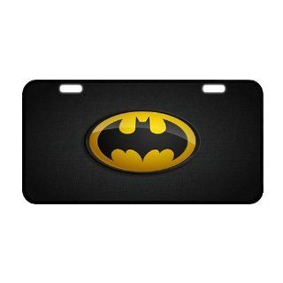 "PanBox COOL Bat man Logo Front License Plate Cover Frame Auto Vehicle Car Front Protector   Size12"" X 6""  Consumerelectronics  Sports & Outdoors"