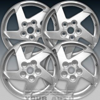 2004 2006 Pontiac Grand Prix 16x6.5 Factory Replacement Sparkle Silver Wheel Set of 4 Automotive