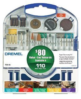 Dremel 709 01 110 pc Super Accessory Kit   Power Rotary Tool Accessories