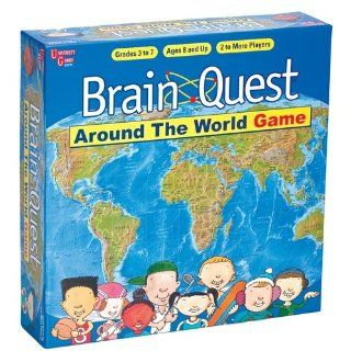 University Games Brain Quest Around the World Game Toys & Games