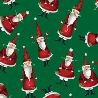 Jillson Roberts Recycled Christmas Gift Wrap, Ho Ho Ho, 6 Count (XR694)  Gift Wrap Paper