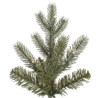 Vickerman Austrian 7.5 Green Fir Slim Artificial Christmas Tree with