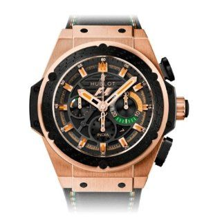 Hublot King Power F1 India Chronograph Automatic Black Dial Men's Watch #703.OM.1138.NR.FMI11 Watches