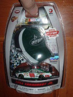 Dale Earnhardt Jr #88 AMP Energy Green White Chevy Impala SS COT 1/64 Scale Diecast & Bonus Mini Replica Official Pit Cap Magnet 2010 Winners Circle Edition Toys & Games
