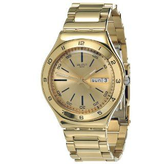 Swatch Men's YGG706G Stainless Steel Gold Tone Dial Watch at  Men's Watch store.