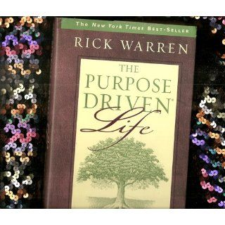 The Purpose Driven Life Journal Rick Warren 9780310807186 Books