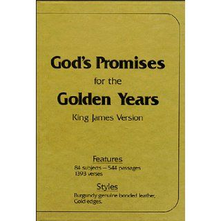 God's Promises for the Golden Years/Deluxe Edition J. Countryman 9780937347294 Books