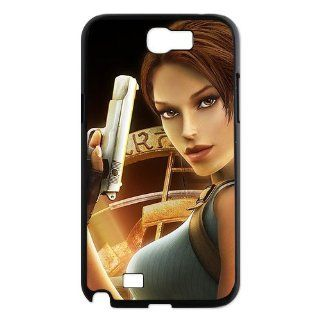 Designyourown Case Tomb Raider Angel Samsung Galaxy Note 2 Case Samsung Galaxy Note 2 N7100 Cover Case Fast Delivery SKnote2 712 Cell Phones & Accessories
