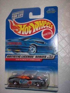 Hot Wheels 1998 Collector No. 732   Artistic License Series   1970 Plymouth Barracuda   4 of 4 Toys & Games