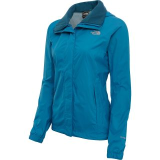 THE NORTH FACE Womens Resolve Rain Jacket   Size Small, Brilliant Blue