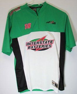 Bobby Labonte Interstate Batteries Large Vintage Pit Shirt Racing  Sports Fan T Shirts  Sports & Outdoors