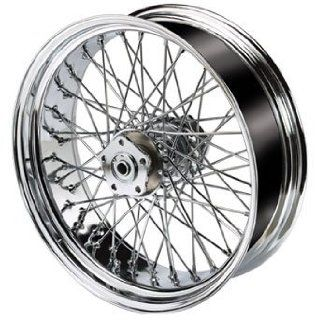 "Ultima Chrome 60 Spoke 16""x5.5 Rear Wheel For Harley Davidson Automotive"