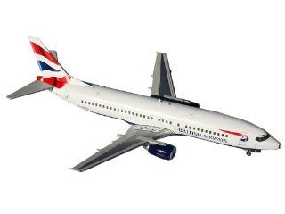 Gemini Jets British Airways B737 400 Diecast Aircraft, 1200 Scale Toys & Games